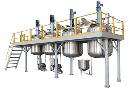 Lube Oil Blending Plant - Lubricant Blending Plant  And Filling Plant Manufacturers & Exporters from India