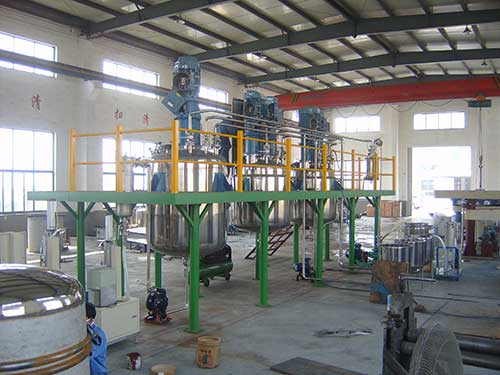 Oil Blending Manufacturing Plant
