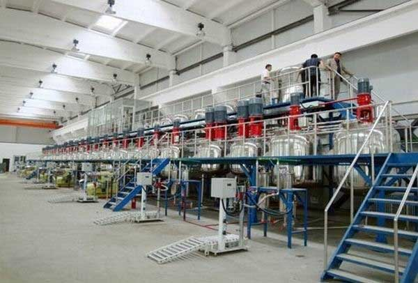 Paints And Color Paint Mixing Plant
