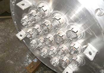 Heat Exchanger with Projected Tubes (Thin Film Evoparetor)
