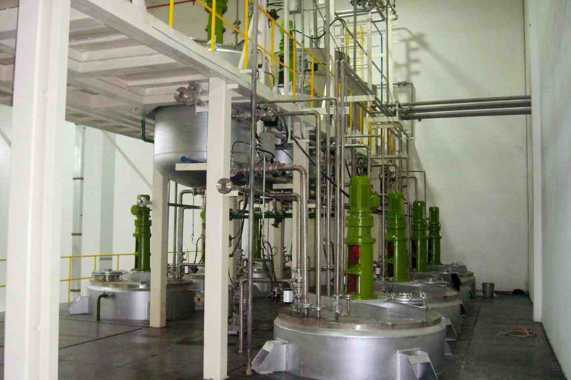Paints Amp Color Paint Mixing Plant Printing Ink Reactor