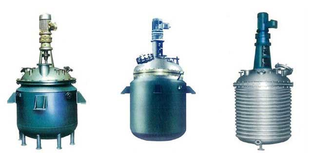 Stainless Steel Jacketed reactor with stirring container / stirring device India