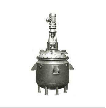 Stainless Steel Reactor With Agitator for input conduction oil India
