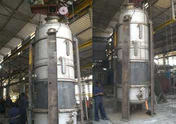 Evaporator (Combination of Reactor and Heat)