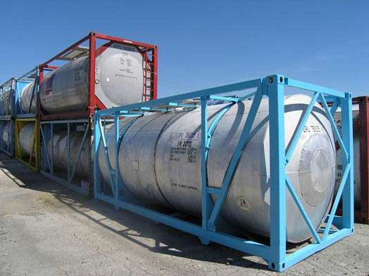 ISO Containers, Stainless Steel ISO Tank Containers