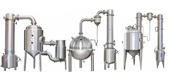 Vacuum Concentrating Tank with Condenser & receiver